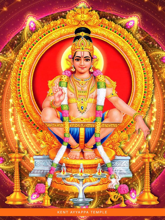 Kent Ayyappa Temple Lord Ayyappa